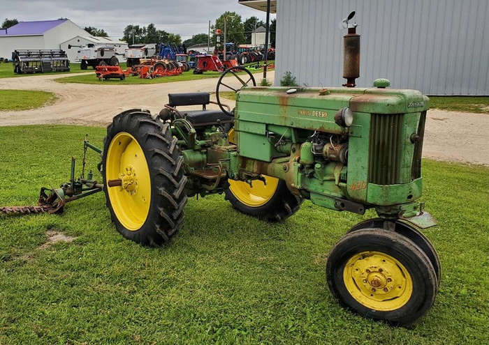 An Old Tractor and A Good Book