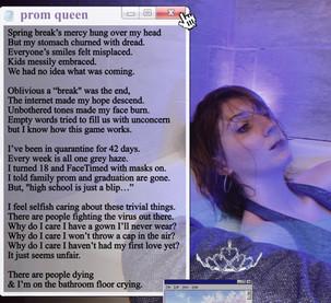 Prom Queen poem