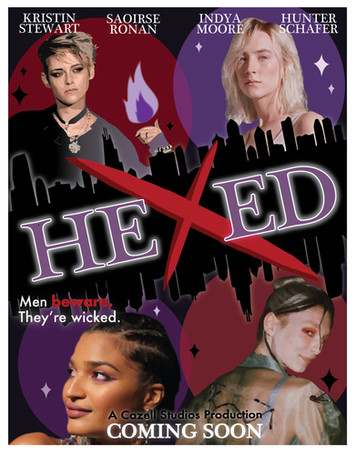 """""""Hexed"""" movie poster"""