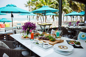 déjeuner plage