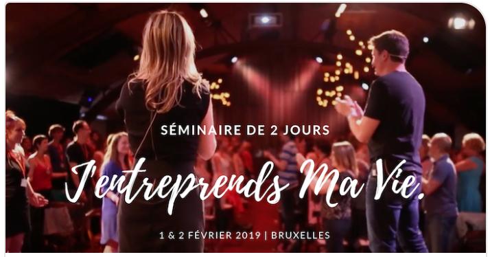 J'Entreprends ma Vie - Bruxelles 1-2 février 2019