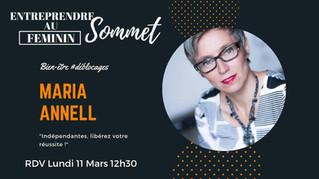 1er sommet Entreprendre au Féminin