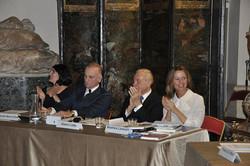 La giuria con Gianni Letta