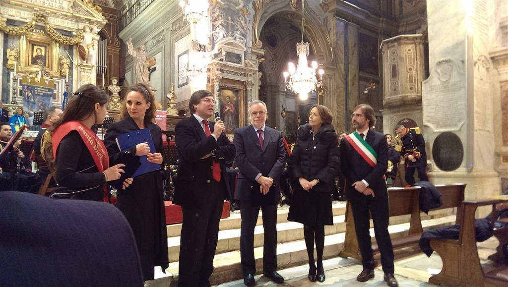 Premiazione AraCoeli