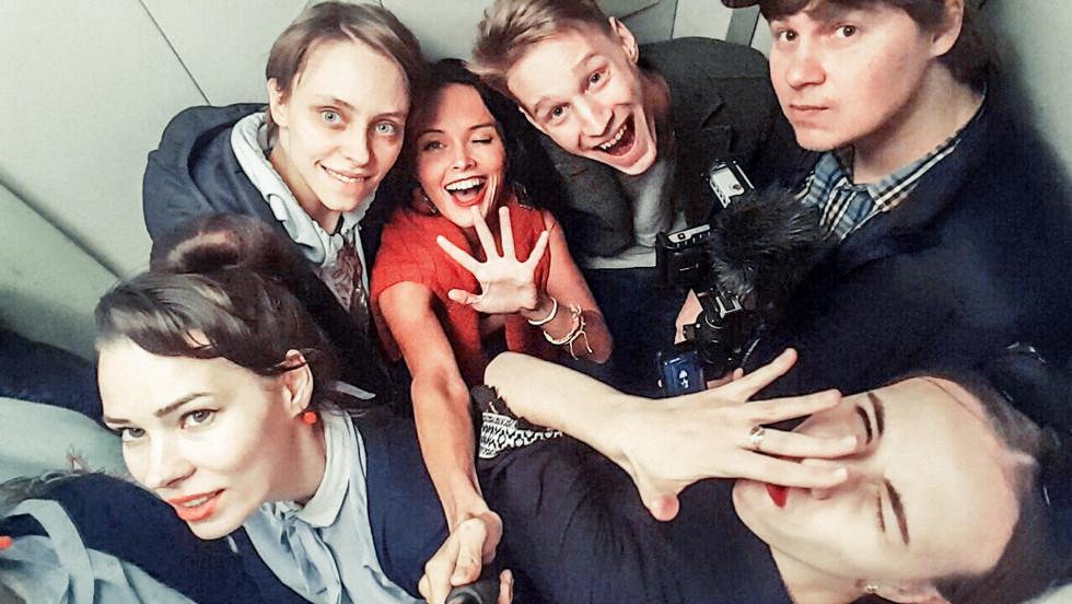 FROM LIFE: Съёмочная группа - почти в полном составе