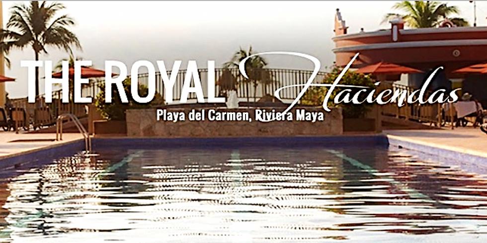 Raffle for a 7 Day Stay in Playa del Carmen The Royal Haciendas!