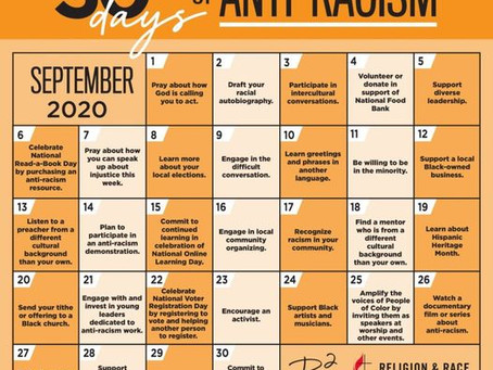 30 Days of Anti-Racism