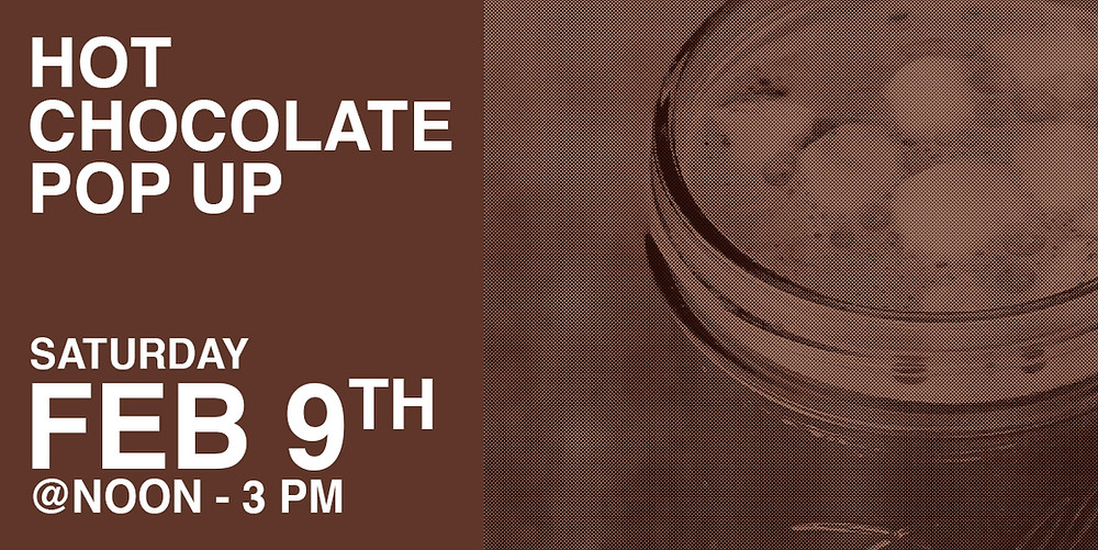 FUMC Hot Chocolate Pop Up February 9th at noon