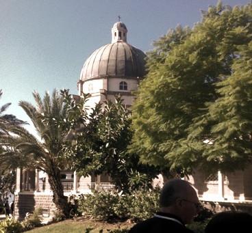 Church of the Beatitudes, Sea of Galilee