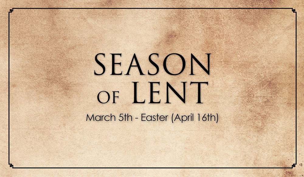 Season of Lent | First United Methodist Church of Kenosha