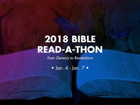 2018 Bible Read-A-Thon