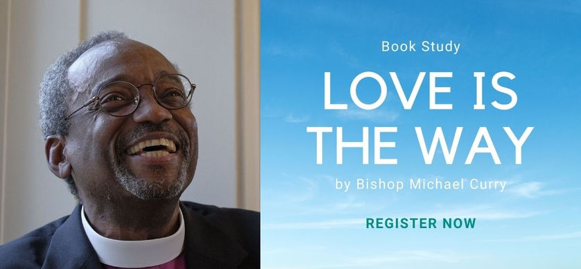 Love is the way - bishop curry book stud