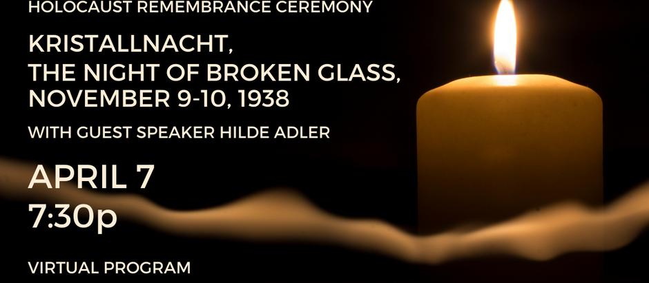 Holocaust Remembrance Service