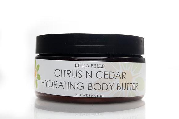 Citrus n Cedar Body Butter