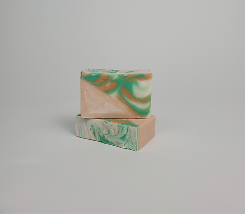 Candy Cane Lane Soap Bar