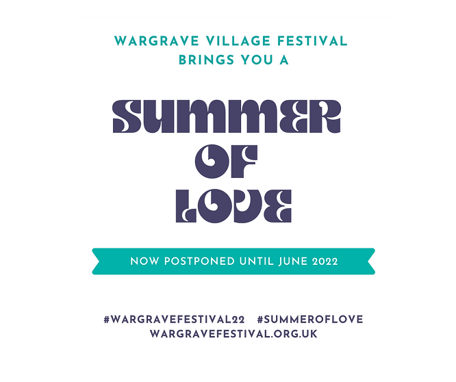 Wargrave Festival transparent postponed.