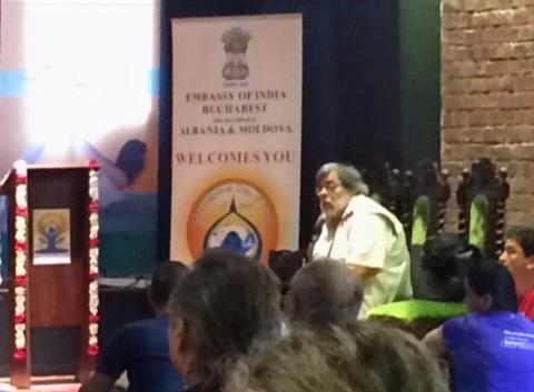 Ziua Internationala a Yogai - Ambasada Indiei (2015)