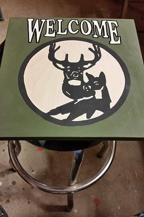 Welcome Home Deer