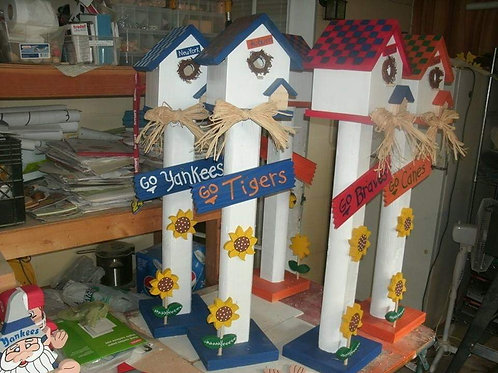 Personalized Bird Houses