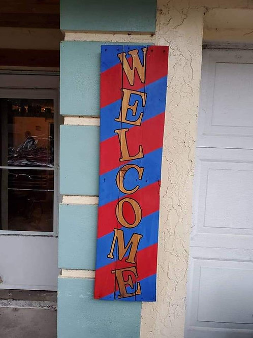 Customize Your Welcome Sign