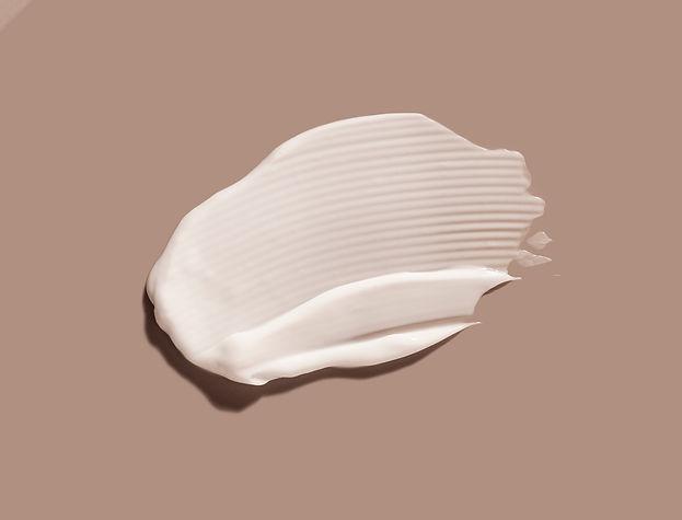 Liquid cream cosmetic smudge texture gra