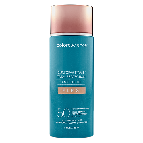 SUNFORGETTABLE® TOTAL PROTECTION™ FACE SHIELD MEDIUM SPF 50