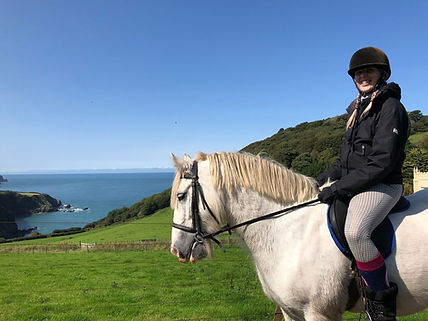 Horse Riding | Exmoor Coast Holidays at Caffyns Farm