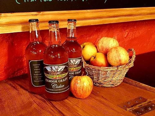 6X The Original Exmoor Scrumpy Cider