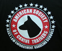 certified through american society of canine trainers