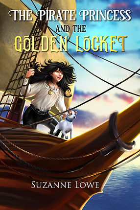 The Pirate Princess and the Golden Locket, childrens adventure book by Suzanne Lowe