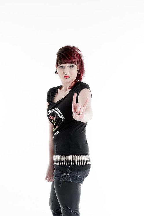 T-shirt / Black / Schwarz / Emo / Gothic / Kawaii / Fashion / Streetwear / Lylliyandt / Dani D Art
