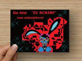 """Postkarte """"Luna"""""""