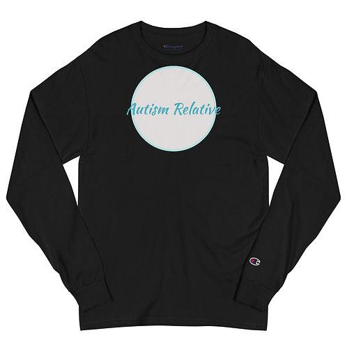 Men's Autism Relative x Champion Long Sleeve Shirt