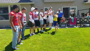 High School Football Team Shows up to Birthday Party for Boy with Autism After Only 1 Person RSVP'd