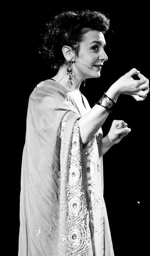 Alia Alzougbi Storyteller