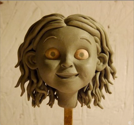 Character maquette, maquettiste, sculptor, stop motion animation, montreal, canada, props maker, Tiffany Monk, puppet maker, marionette