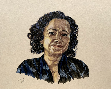 Portrait of Samira Ahmed - 2020