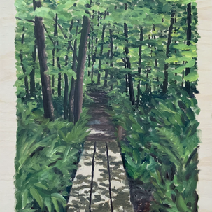 Journeys on the Trail - Scene 1