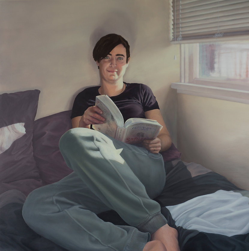 Sunday Mornings. Painting by Tiffany Monk. Peintre