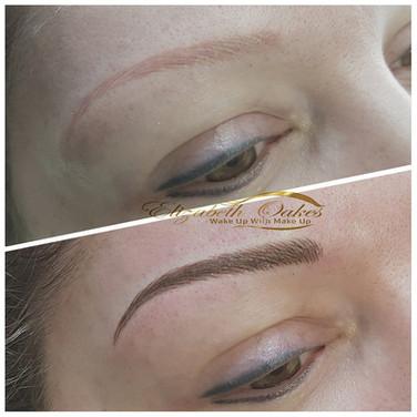 Permanent Eyeliner, Elizabeth Oakes Permanent Makeup, Eyeliner, Tattoo Eyeliner
