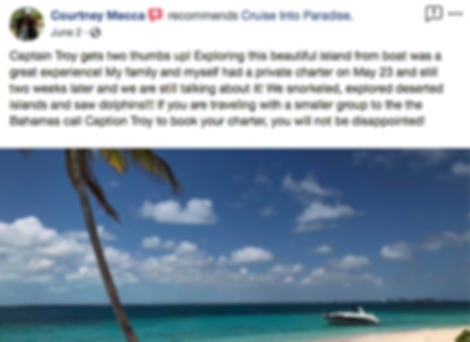 Bahamas Boat Rental Review