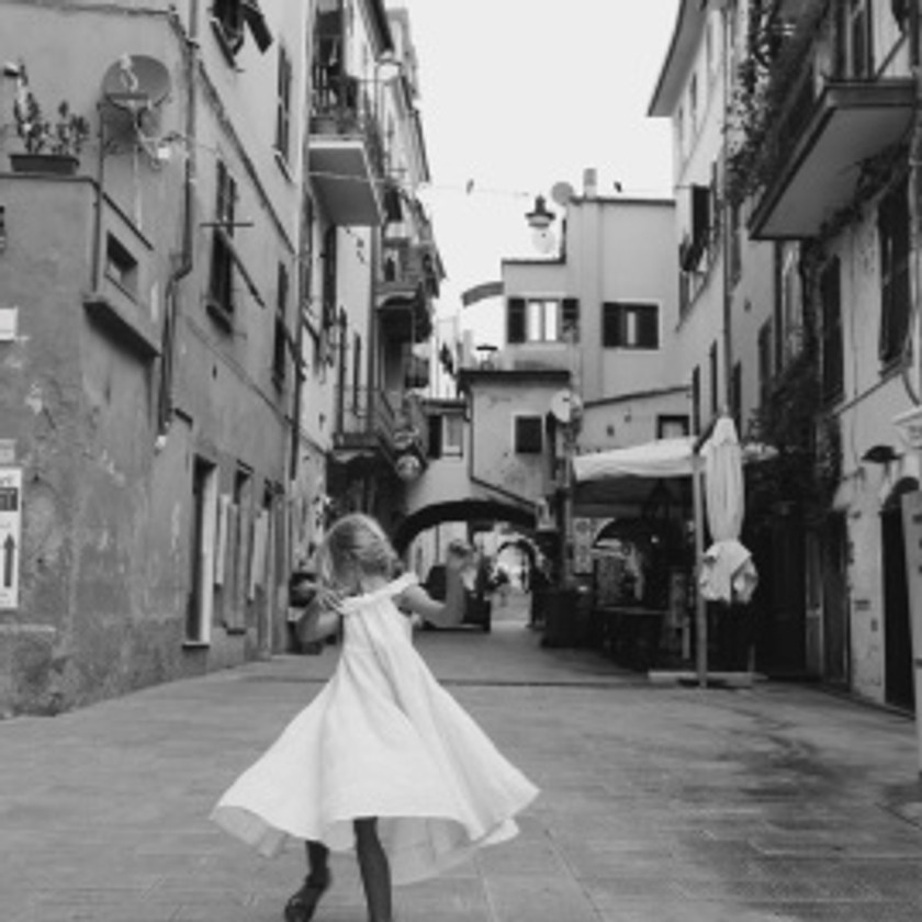 Twirling in Old Monterosso