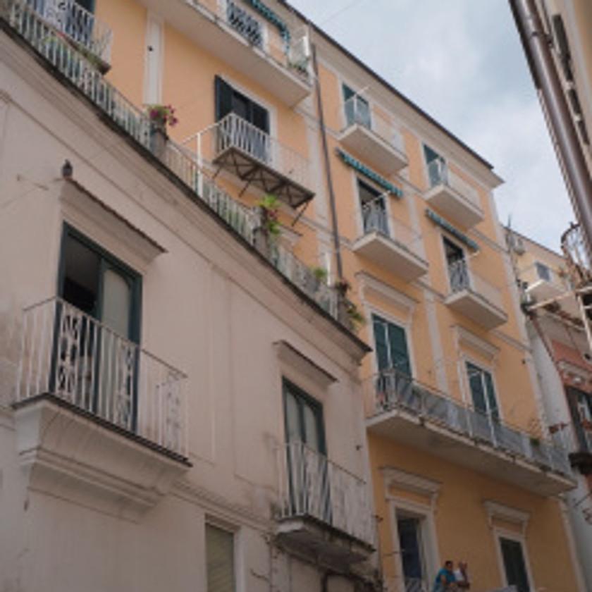 Buildings in Amalfi