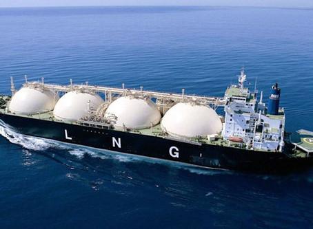 יצוא גז טבעי נוזלי מישראל לעולם