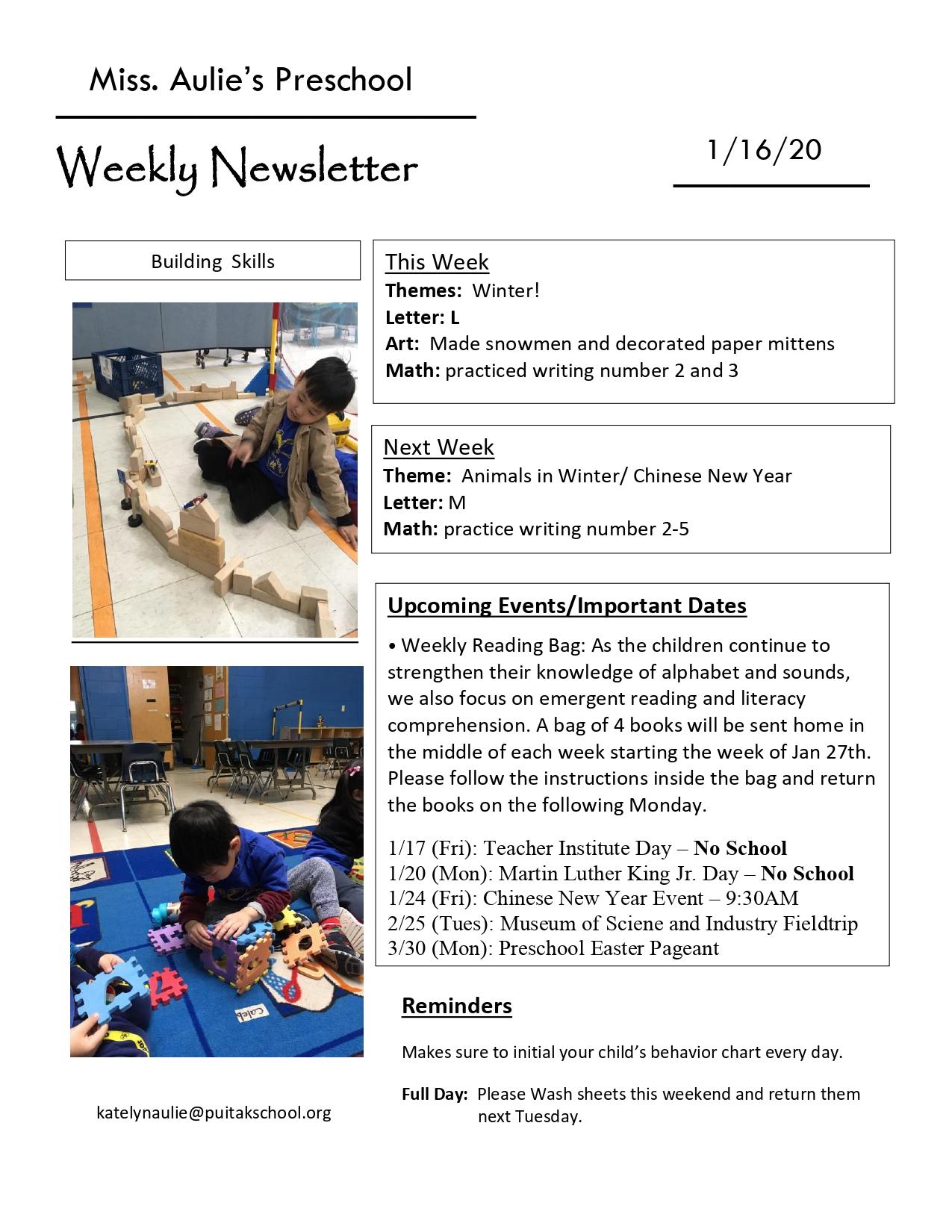 KatelynNewsletter2020January3rdWeek_page