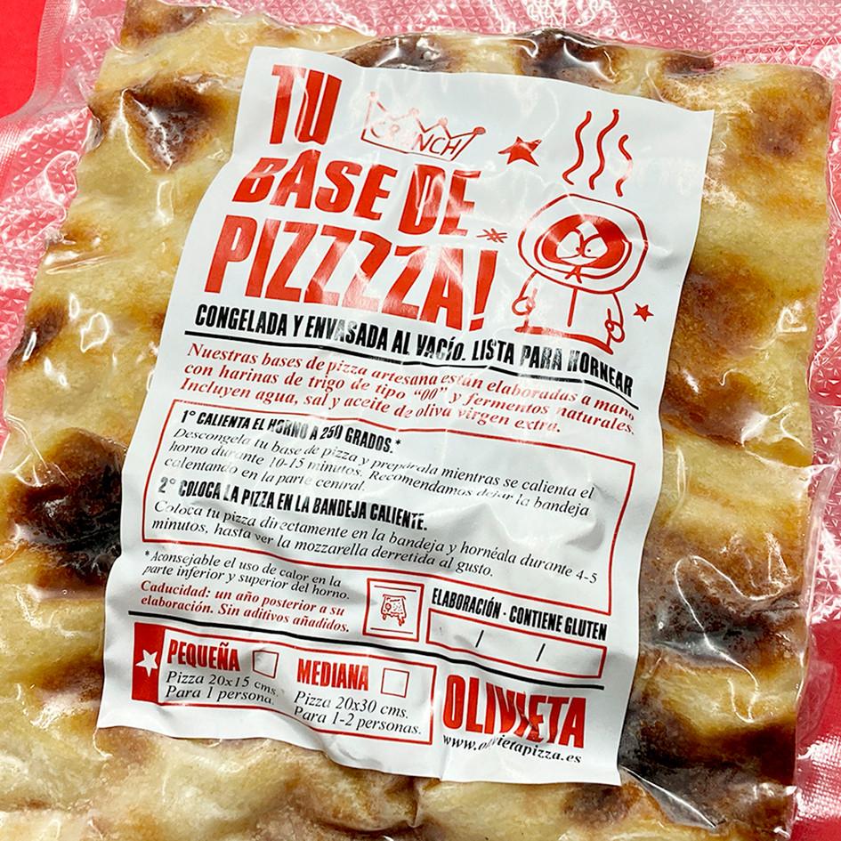 BASE DE PIZZA CONGELADA