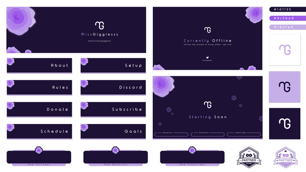 StreamShark Graphics // Portfolio // Twitch Overlay