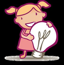 icone idée pour Le Dressing de Bébé, koxintox graphiste illustrateur à Lisle sur Tarn, Caroline Pillet,création logo,illustration
