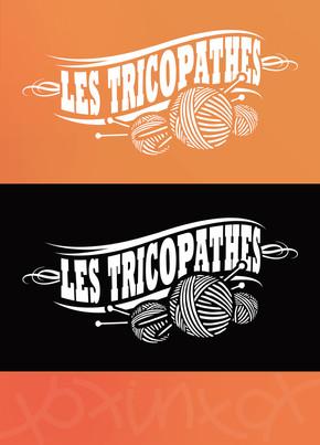 Les Tricopathes, koxintox graphiste illustrateur à Lisle sur Tarn, Caroline Pillet,création logo,illustration