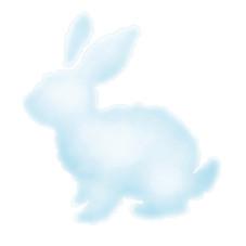 koxintox-stickers-rigolonimbus-nuage-lapin, koxintox graphiste illustrateur à Lisle sur Tarn, Caroline Pillet,création logo,illustration